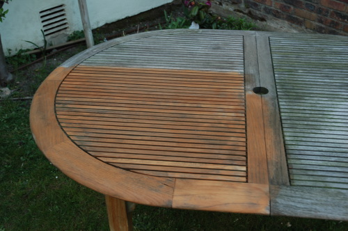 Rénover et entretien des meubles en Teck