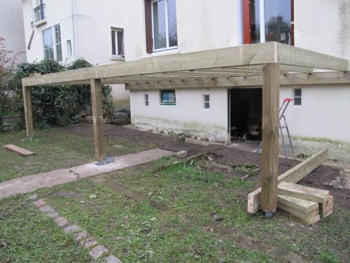 Construction Terrasse En Bois Sur Pilotis