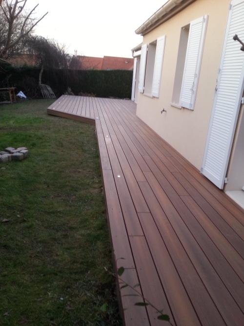 Terrasse en bois composite Timbertech XLM