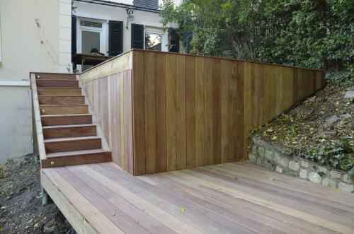 terrasse bois au karcher. Black Bedroom Furniture Sets. Home Design Ideas