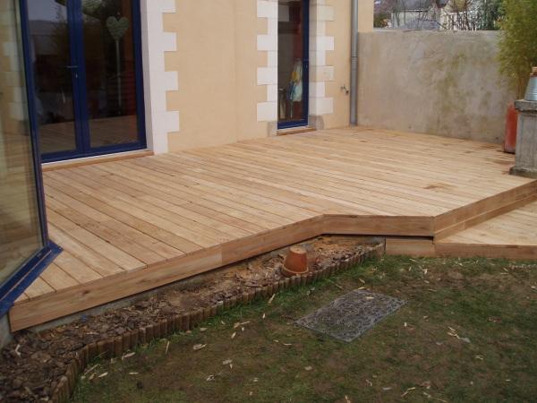 Terrasse En Teck Pour Une Maison