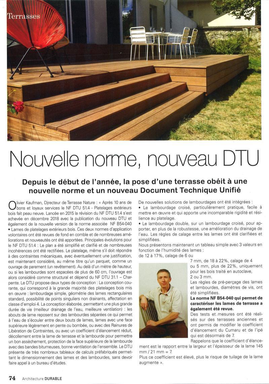 Dtu Terrasse Bois Cartier Love Online