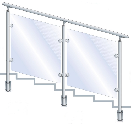 Garde Corps Inox Balustrade Inox Barri Re Et Main Courante Inox