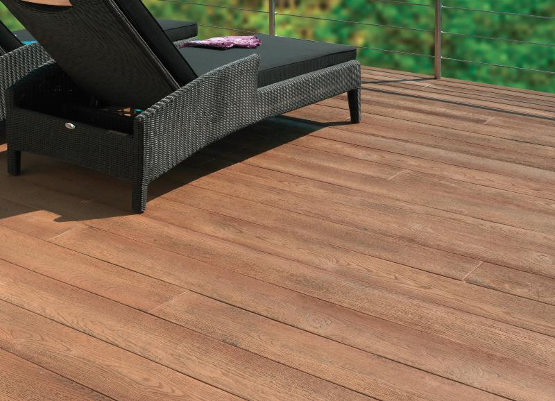 lames de terrasse millboard ch ne cuivr. Black Bedroom Furniture Sets. Home Design Ideas