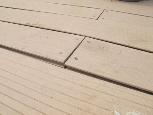 terrasse bois composite avec probl mes. Black Bedroom Furniture Sets. Home Design Ideas