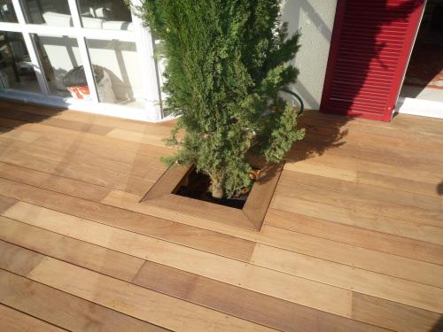 terrasse en bois massaranduba. Black Bedroom Furniture Sets. Home Design Ideas