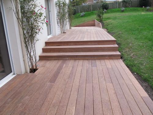 terrasses en bois en cumaru pas cher. Black Bedroom Furniture Sets. Home Design Ideas