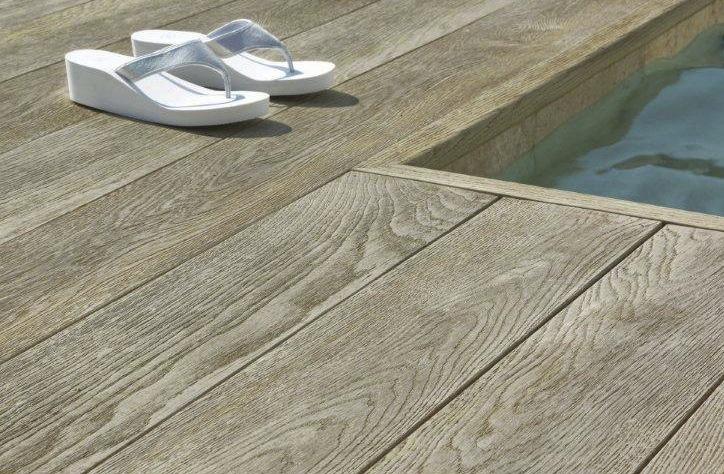 Terrasse lame beton imitation bois diverses - Dalles pvc imitation carrelage ...