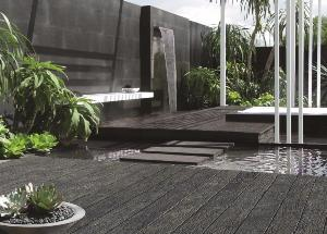 Lame de Terrasse MILLBOARD, Veinage Naturel Bois Pétrifié