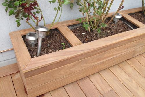 balcon en bois avec lames de terrasse. Black Bedroom Furniture Sets. Home Design Ideas