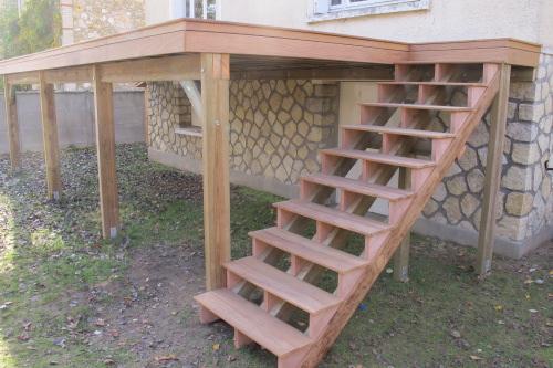 Faire Une Terrasse Sur Pilotis En Beton  ZimerfreiCom  Ides De