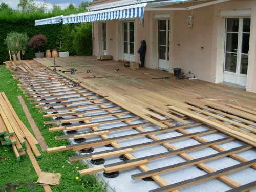 Th me double structure photos de terrasse par th mes - Terrasse bois lambourdes ...