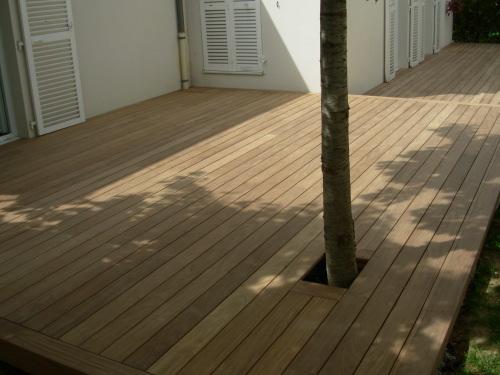 Les experts de la pose de terrasse en bois - Arbre pour terrasse appartement ...