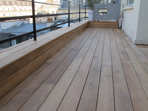 realiser une terrasse latest faire une terrasse en bois avec des palettes with realiser une. Black Bedroom Furniture Sets. Home Design Ideas