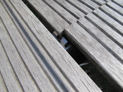 Terrasse bois avec probl mes - Fixation lame composite ...