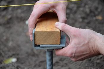 Plots Béton Terrasse En Bois Utilisez Les Plots De Fondation