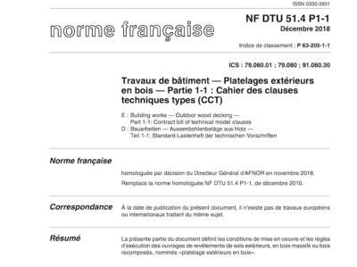 Construction De Terrasses En Bois Conforme Au Dtu 51 4
