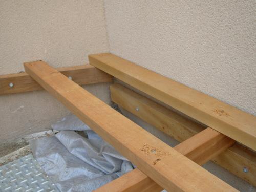 Terrasse en bois en ip sur pilotis - Nombre d ardoise au m2 ...
