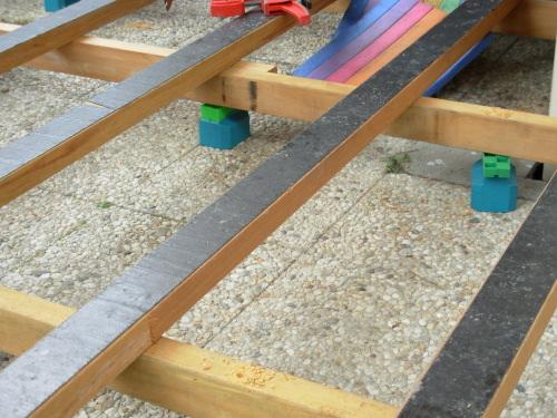 Photo 1 : Cales KOMBI Mises En Oeuvre Sous Une Double Structure