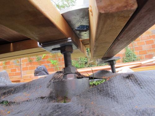 Realisation De Terrasse Et Balcon Sur Pilotis Sans Plots Beton