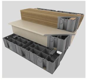 Escalier Préfabriqué Modulaire Pour Terrasse En Bois