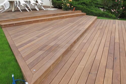 en bois photo 12 vue d ensemble de la terrasse en bois