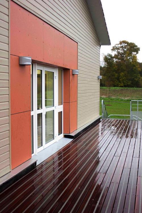 Réalisation terrasse en bois antidérapante