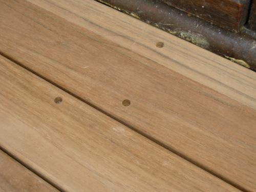 terrasse en bois pose invisible par clips. Black Bedroom Furniture Sets. Home Design Ideas