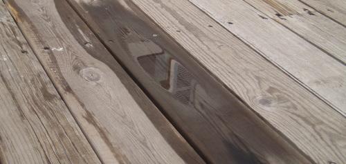 terrasse bois composite inconvenient, photo vu sur  vertmonjardinfr