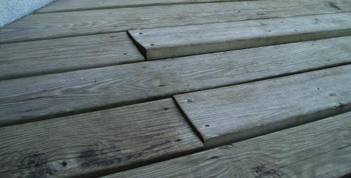 Les Bois De Terrasse Que Nous N Utilisons Pas
