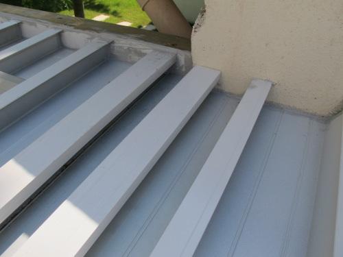V randa sous terrasse tanche - Rendre une terrasse etanche ...