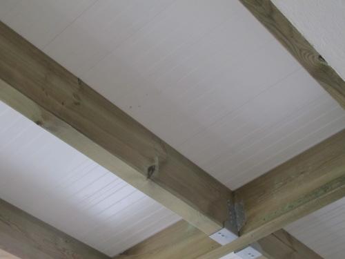 Terrasse bois etanche bac acier