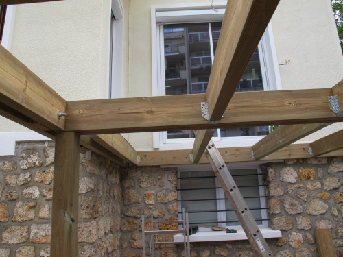 Structure pin terrasse waterproof
